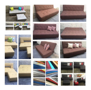 Sofa Cama Matrimonial Contry Fabrica/tienda 2 Cojines