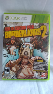 Borderlands 2 Add-on Pack Version 2.0 - Xbox 360