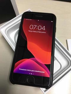 iPhone 7 Preto 128gb Com Capa E Película