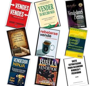Pack 12 Libros Sobre Ventas