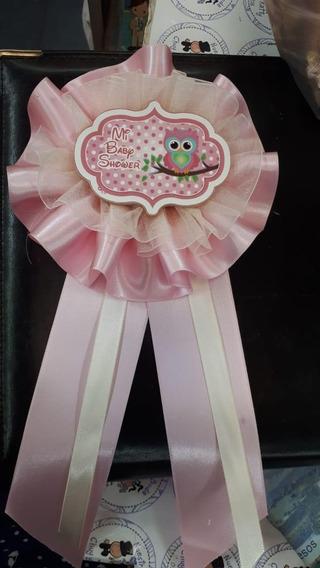 Corsage Distintivo Para Madre Embarazada Baby Shower Niña