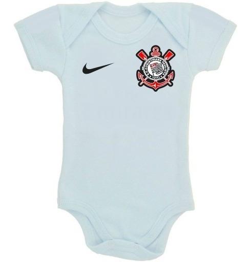 Body Do Corinthians Personalizado - Roupinha De Bebê Menino