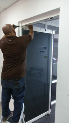 /reparacion,mantenimiento , Puerta De Vidrio Tecnicos Frenos
