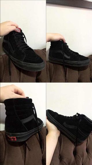 Tênis Vans Sk8-hi Black Original
