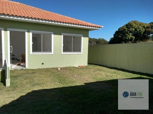 Rgi - Excelente Residencia De 01 Quarto Á Vista 105 Mil- Araruama - Ca0127