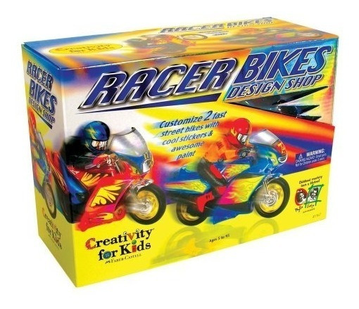 Creativity For Kids Racer Bikes Design Comprar Pintura