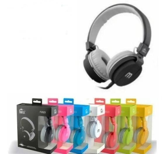 Fone De Ouvido Headphone Favix F2023 Original-cores Diversas