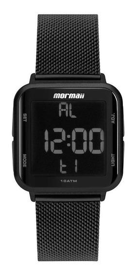 Relógio Feminino Mormaii Digital Quadrado Mo6600ag/8p