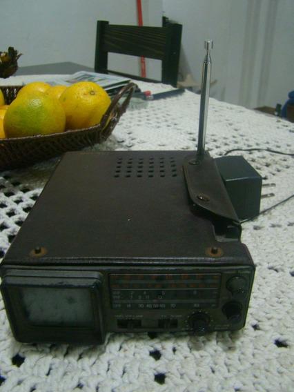 Rádio Am Fm E Mini Tv Unisonic Japan Ver Descrição