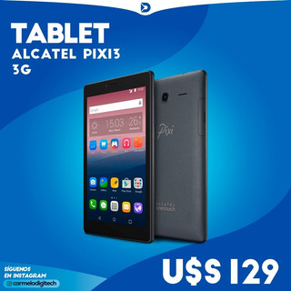 Tablet Alcatel Pixi 3 - Envio A Todo El Pais