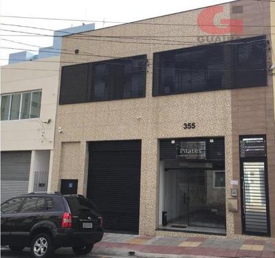 Salão Comercial Para Locação, Santo Antônio, São Caetano Do Sul. - Sl2055