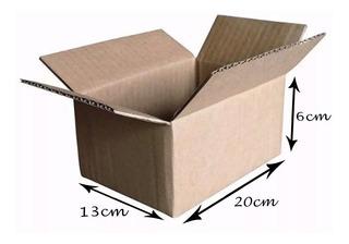 50 Caixa De Papelão Correio Sedex 20x13x06 Mercado Envios