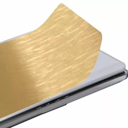 Adesivo Skin Pelicula Aço Escovado, Proteção Notebook,tablet