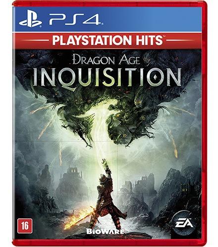 Jogo Dragon Age: Inquisition Playstation 4 Ps4 Mídia Física