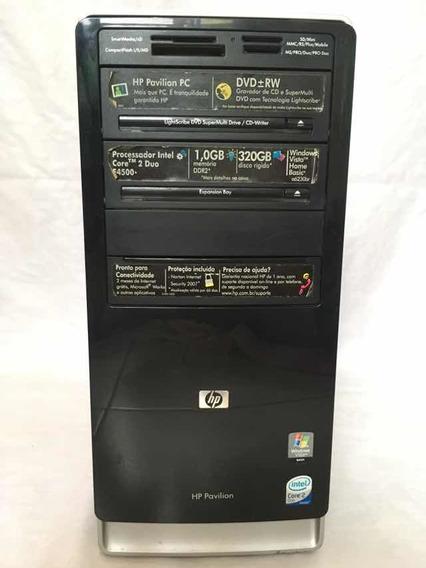 Cpu Hp Pavilion Pc Intel Core 2 Duo Gravador Dvd 320gb + 1gb