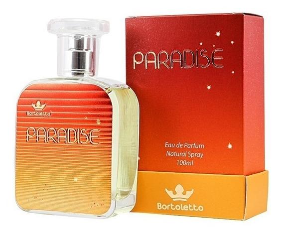 Perfume Bortoletto Paradise 100ml Embalagem Nova