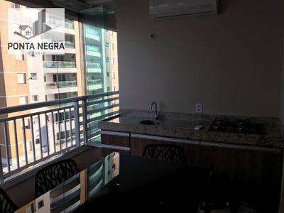 Living Confort, 97m2, Mobiliado, Dom Pedro - Ap0376