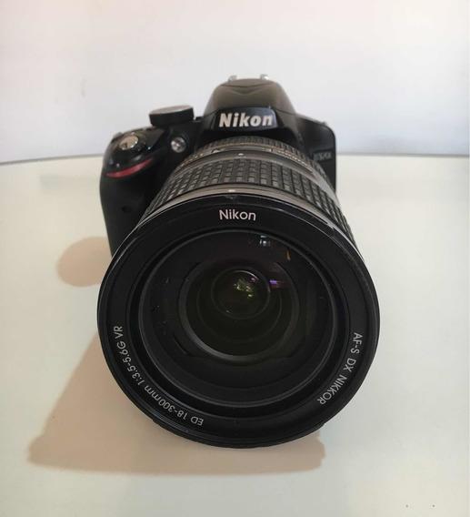 Lente Nikon 18-300 3.5-6.0 Seminova