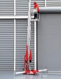 Elevador Unipersonal  Alo Lift 32 Amp  12 Mts De Altura