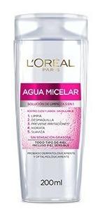 Agua Micelar Hidra Total 5 Loreal X 200ml Original