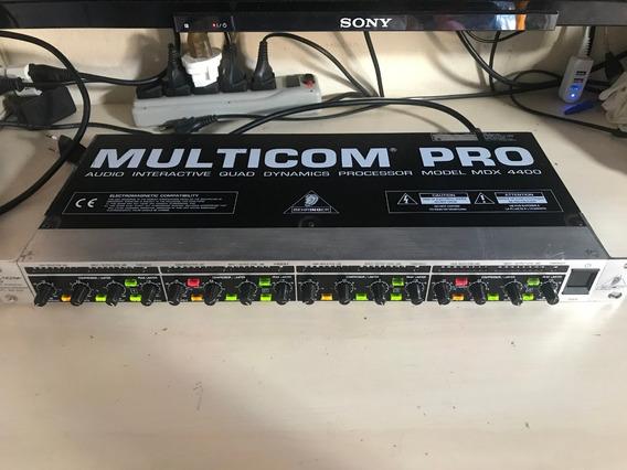 Multicom Pro Behringer Mdx-4400 (compressor)