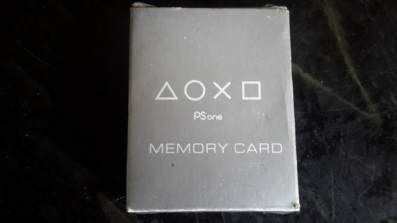 Memory Card Ps1 Nunca Usado