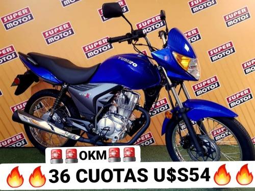 Yumbo Gts X 125 Financiacion 100% Tomamos Tu Moto Usada !!