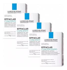 Sabonete Effaclar Concentrado 70g La Roche 4 Unidades