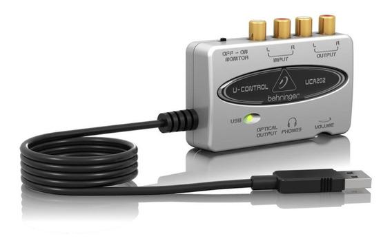 Interface Áudio Usb Behringer U-control Uca202