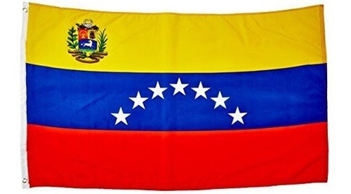 Quality Standard Flags Venezuela 7 Estrellas Polyester Flag,