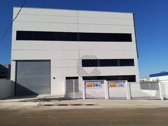 Galpão Para Alugar, 765 M² Por R$ 15.000,00/mês - Jardim Centro Empresarial Sorocaba - Sorocaba/sp - Ga0153