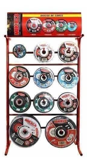 Exhibidor Para Discos De Corte