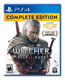 The Witcher 3 Wild Hunt Complete Edition Ps4 Play Station 4