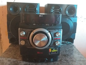 Som 2 Caixas Marca Lg 1.480 W Tem Bluetooth, Grava Pendriv