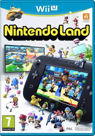 Jogo Wiiu Nintendo Land Nintendo Midia Física