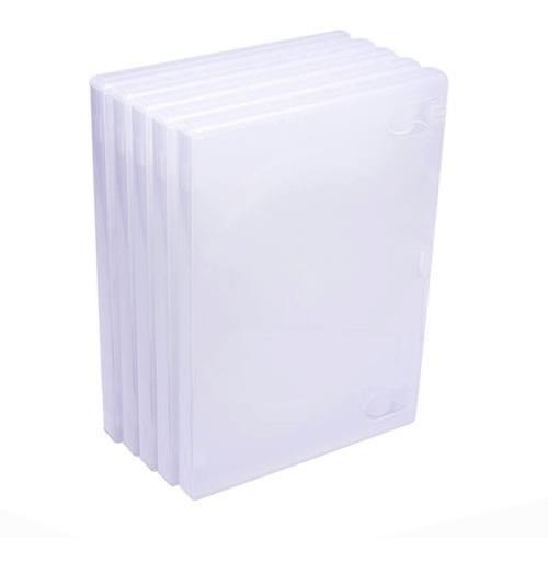 Capa Box Para Dvd Amaray Transparente Resistente 20 Unidades