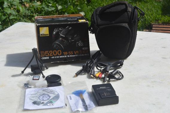 Nikon 5200 Kit Completo Semi Nova