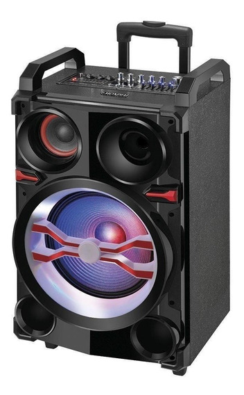 Caixa De Som Amplificada Mondial 400w Cm-13 Preto - Bivolt