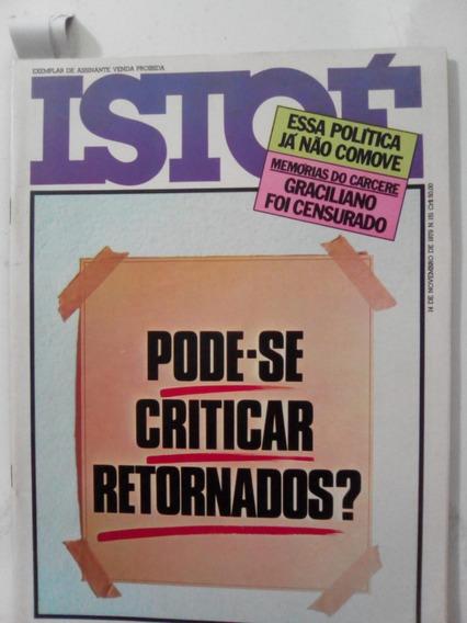 Revista Istoé 151 Cantagalo Djenane João Gilberto Fusca 1979
