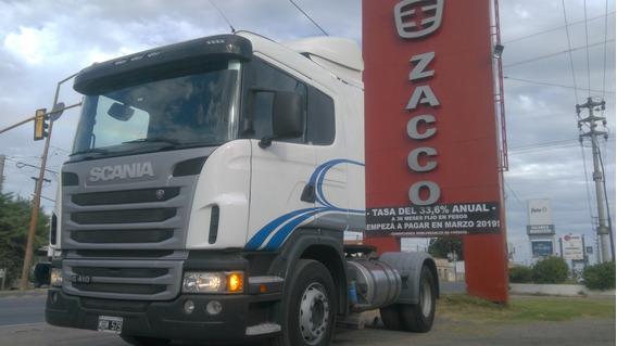 Scania G410 Año 2013 - Entrega Y Cuotas Fijas En $