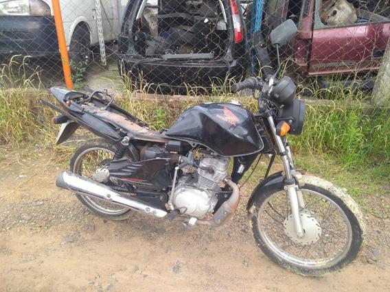 Cano Escapamento Descarga Honda Fan 125cc 2011