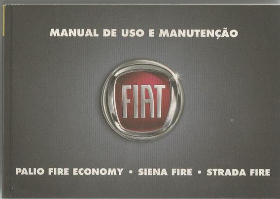 Manual Proprietário Palio Siena Strada Fire 2010 C/suplement