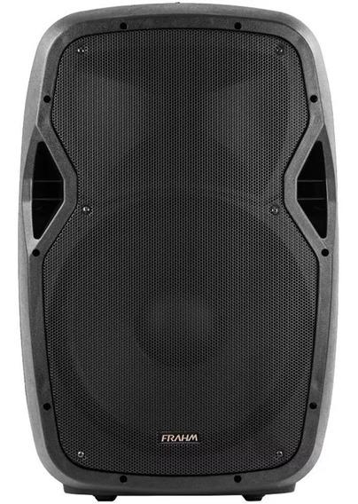 Caixa Acústica Ativa Frahm Gr15a Bt 500w Bluetooth Usb Sd Fm