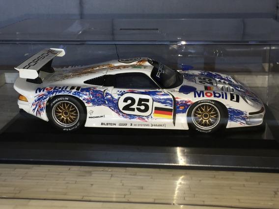 Porsche 911 Gt1 Le Mans 1996 1:18 Ut Sem Caixa Ñ F1 Gp Senna