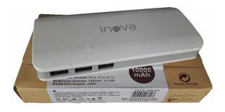 Bateria Externa Power Bank Carregador Inova 10000mah Celular