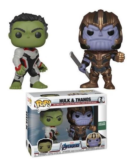 Funko Pop Avengers Endgame Hulk & Thanos 2 Pack