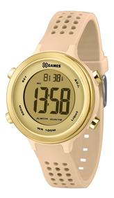 Relógio X-games Feminino Digital Xfppd066 Rose Dourado