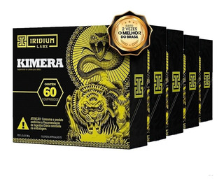 Kimera Thermo - 60 Comps - Kit 5 Caixas - Termogênico
