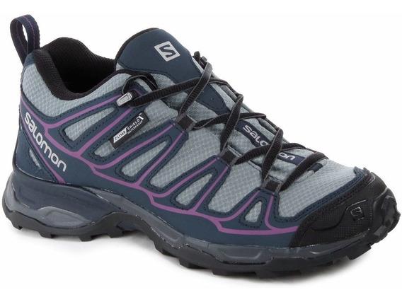 Zapatillas Salomon X Ultra Prime Cs Mujer Running Impermeabl