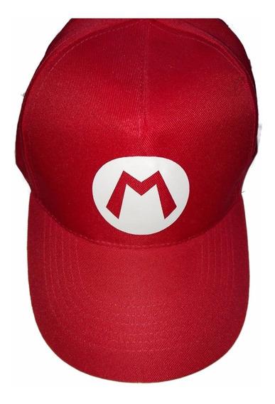 Gorra De Mario Luigi Nintendo Video Juegos